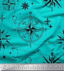 Soimoi-Fabric-Direction-Compass-Nautical-Print-Fabric-by-the-Meter-NC-1A