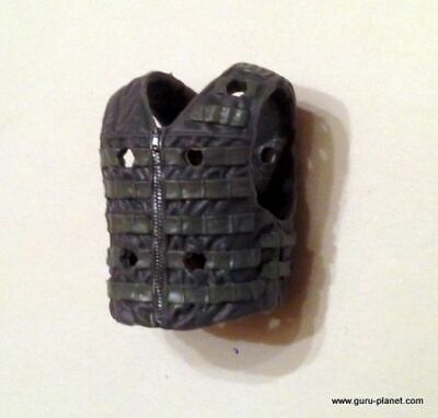 Boss Fight JOE MTF GREY Vest Gear Figure Accessory Set Lot Custom GI Fodder 1pc