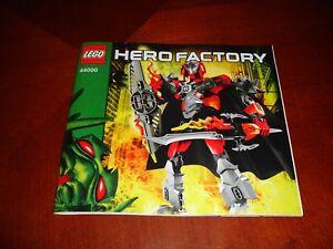Lego Bionicle 44000 Herofactory Manuel D'instruction-afficher Le Titre D'origine Belle En Couleur