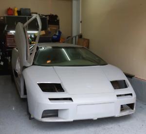 Lamborghini diablo replica  project
