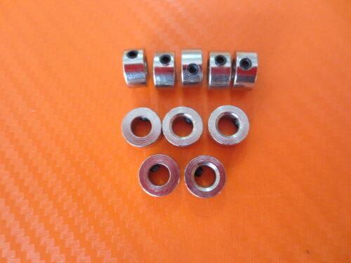 10 pezzi anelli fisse anelli di bloccaggio 5 mm 5,2mm anello di stazionamento Wheel bullone esagonale