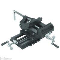 6 Cross Drill Press Vise Slide Metal Milling 2 Way Clamp Vice Cross Slide Vice