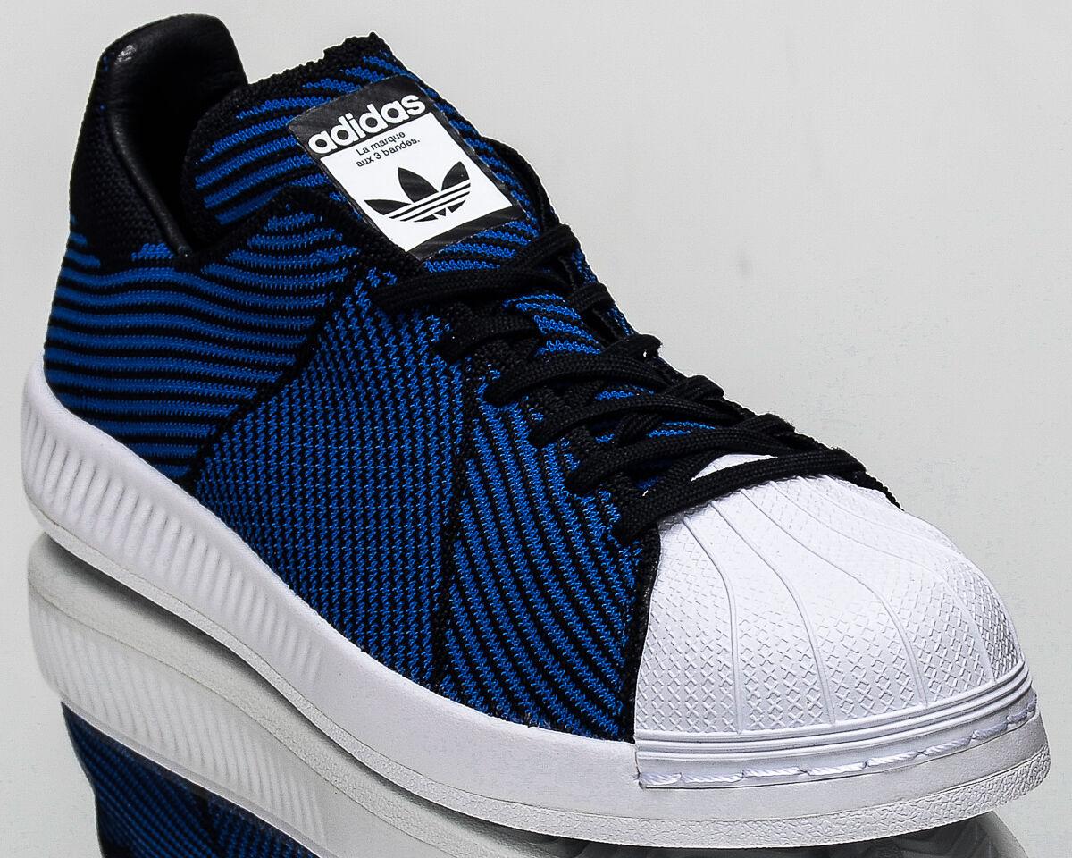 Adidas originali superstar rimbalzare primeknit uomini lo stile di vita originali Adidas scarpe nuove s82242 blu d3323a