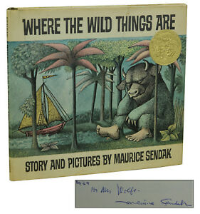Where the Wild things are 11x14 signed print