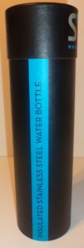 S/'well Vacuum Insulated Stainless Steel Water Bottle Wenge Wood 17 oz