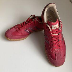 adidas samba maroon suede- OFF 54