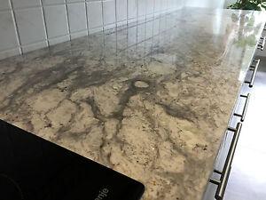 Küchenarbeitsplatte Naturstein Arbeitsplatte Kücheninsel Küche ...