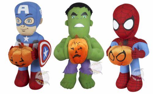 New Disney Halloween Super Hero Decoration Plush Porch Greeters
