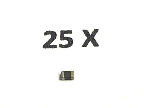 EMI 25 Stück WÜRTH SMD Ferrit 742792040 0805 Filter Drossel 600R 2A