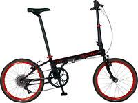 Dahon Speed D7 20 Folding Bike, Obsidian Matte