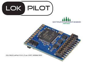 ESU 59629 LokPilot 5 DCC Mobile Decoder 21 Pin harness plug NEM660 MODELRRSUPPLY