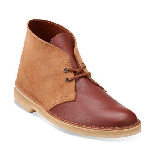Clarks Originals Mens  DESERT BOOTS  TAN COMBI  Limited Stock   UK 9,11 F