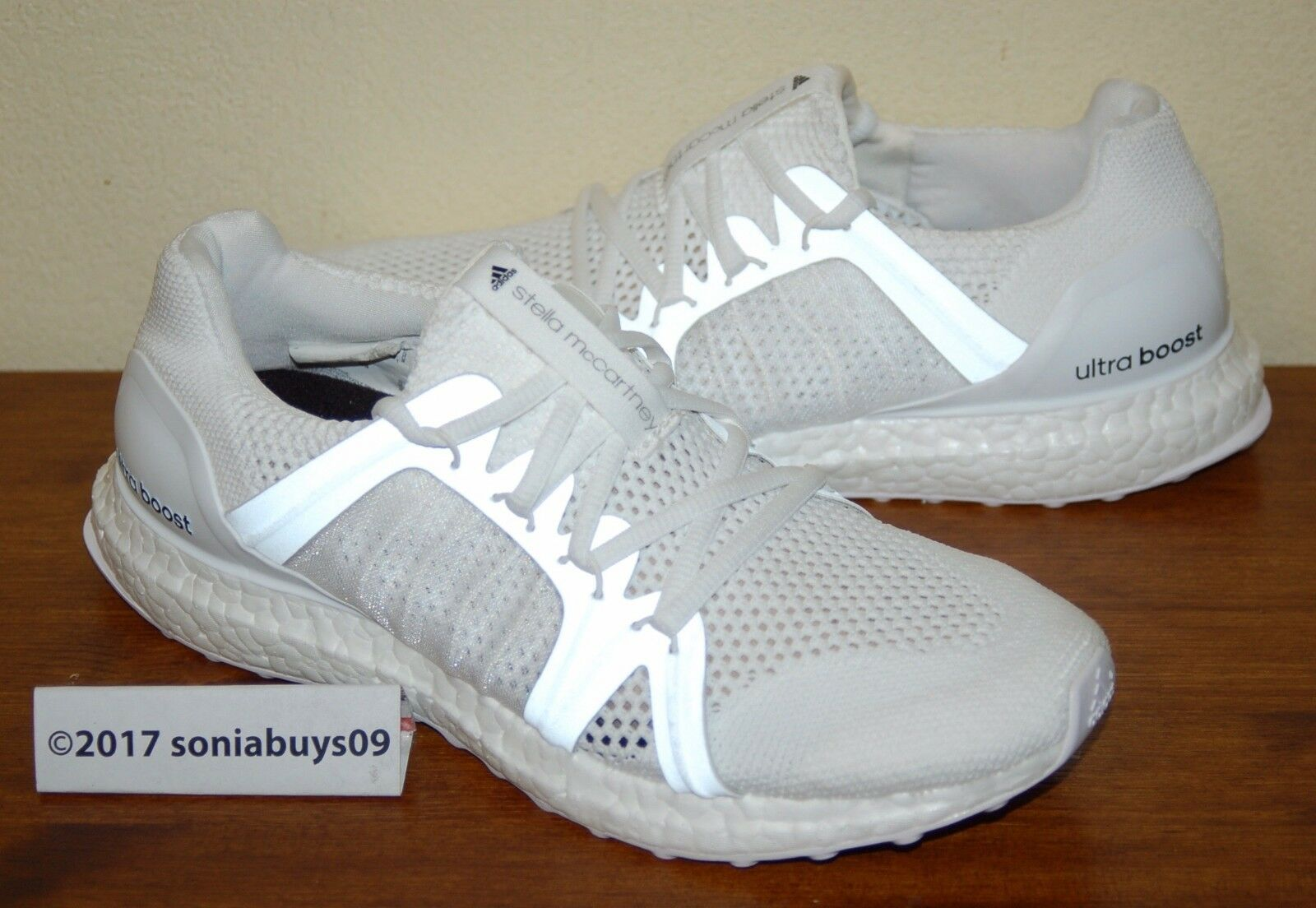 Adidas Women's Stella  M UltraBoost Running shoes, BB0820, White, US Size 9  fast shipping and best service