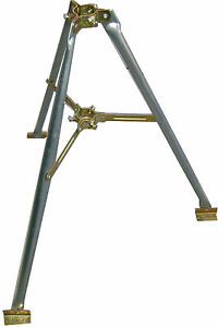 "Easy Up Ez 48-3a Heavy Duty 3' Tripod For Masts Up To 1-3/4"" Od (usa Made) Fabrication Habile"