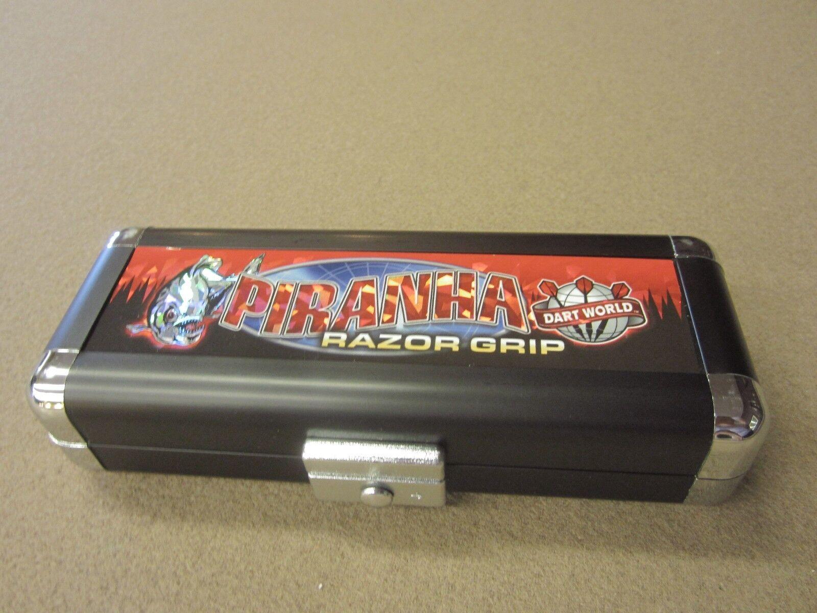 Piranha Razor Grip 24g Steel Tip Darts 90% Tungsten 19510 FREE w/ FREE 19510 Shipping c0d1c8
