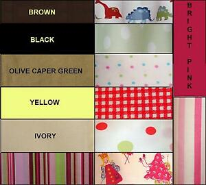 NEW-twin-QUEEN-king-PILLOW-case-SOLID-yellow-BLACK-dots-CHECK-fairy-your-CHOICE