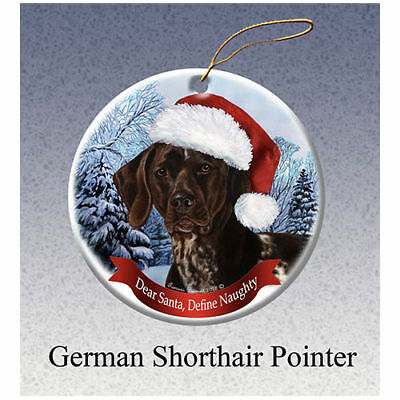 German Shorthaired Pointer Dog Santa/'s Little Pals Stocking Christmas Ornament