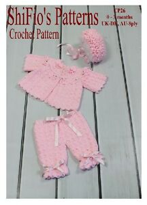 CROCHET-PATTERN-for-BABY-JACKET-HAT-amp-TROUSERS-26-NOT-CLOTHES