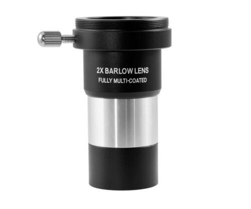 "tsbf 1 Acromática 2x Barlow lente barlowlinse 1,25/"" t2 rosca foto Barlow"