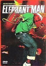 Elephant Man - Elephant Man Live DVD New