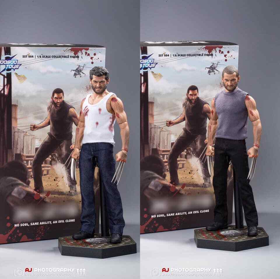 SooSoo Toys 1 6 SST004SX X-24 and Logan Sixth Scale Figure Deluxe TWO BODIES