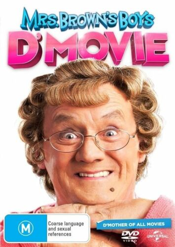 1 of 1 - Mrs. Brown's Boys D'Movie (DVD, 2014) NEW R4