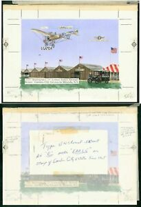 Uganda-1987-75th-Anniv-US-Airmail-Bleriot-034-Dragonfly-034