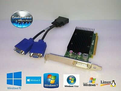 Dell OptiPlex 960 980 990 DT SFF PCIe Half-Height DMS-59 Dual Video Card