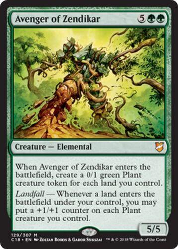 Vendicatore di Zendikar Avenger of Zendikar MTG MAGIC C18 English