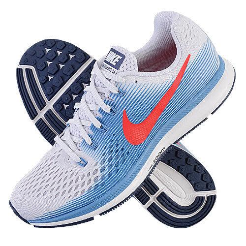 Nike Air Zoom Pegasus 34 hommes Running Chaussures bleu 880555-0167.5 EUR 42