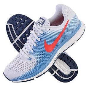 buy popular c6827 4a76c Das Bild wird geladen Nike-Air-Zoom-Pegasus-34-Maenner-Laufschuhe-blau-
