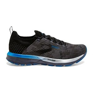 BROOKS-RICOCHET-2-Scarpe-Running-Uomo-Neutral-Energize-BLACK-GREY-BLU-110315-053