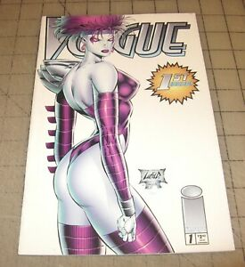 VOGUE #1B (October 1995) VF Condition Comic - 1st Issue - Image Comics LIEFELD