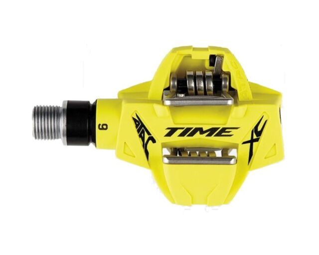 d67f89f77 Time ATAC XC 6 Pedals Mountain bike commuting Cyclocross with cleats Yellow  New