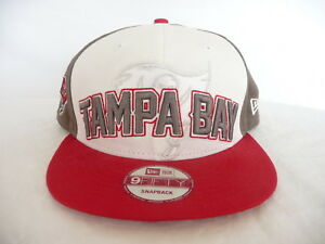 sports shoes 05cc1 38264 Image is loading New-Era-9Fifty-Snapback-Tampa-Bay-Buccaneers-NFL-