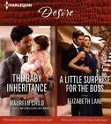The Baby Inheritance & a Little Surprise for the Boss by Elizabeth Lane, Maureen Child (CD-Audio, 2016)