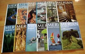 12x-Merian-1979-komplett-32-Jahrgang-Hefte-1-12-Zeitschrift-Reise-Europa-Welt