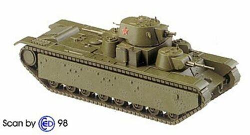 1938 Russian T-35 Heavy Tank Artmaster 80803 Minitanks 1202 New 1//87 Scale Ki