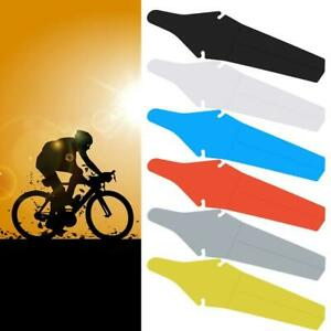 Bicycle Bike Extended Rear Ass Fender Clip on Mudguards Road /& Mtb Rain Saver