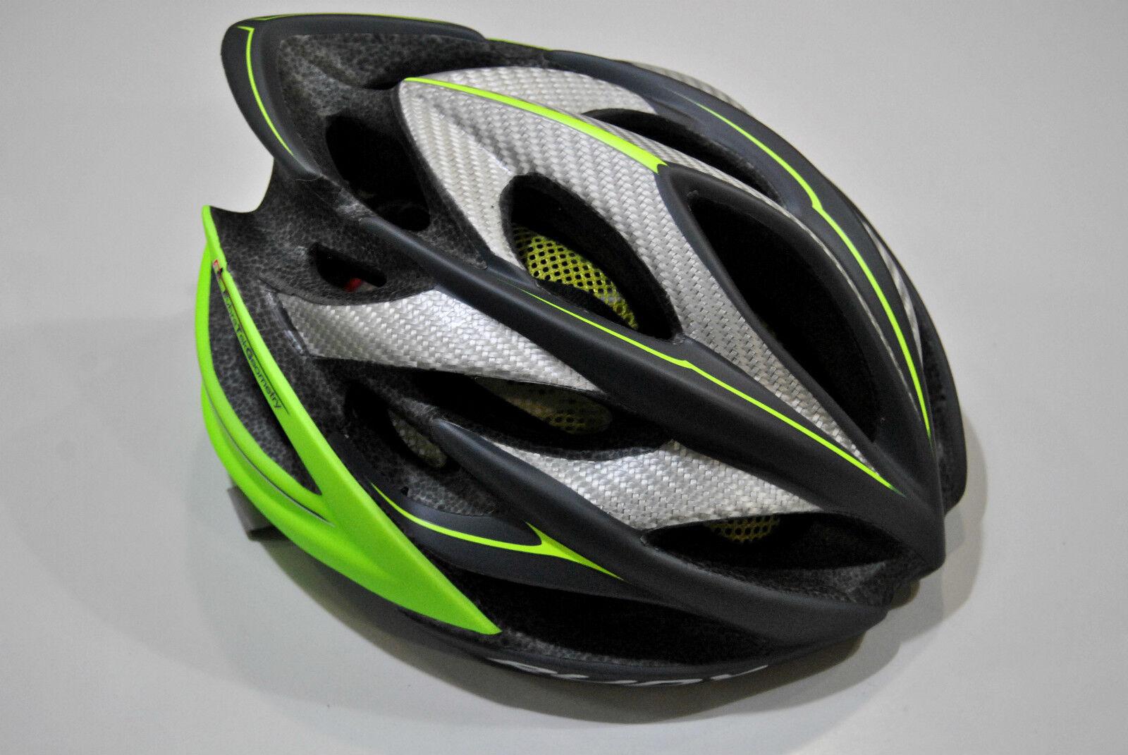 Helm mit dem Fahrrad Fahrrad Fahrrad RUDY Projekt MOD. WINDMAX Kol. Graphit Lime Fluo Mat HELMET f98567
