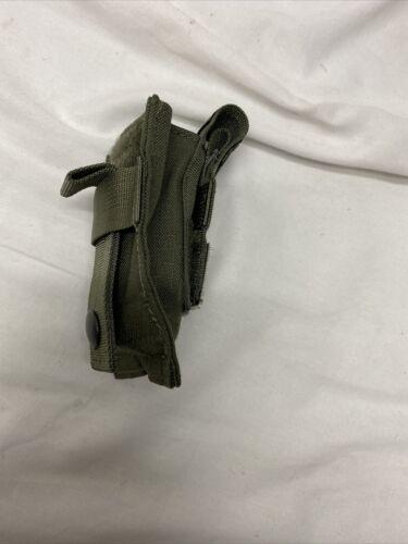 Blackhawk Single Pistol Mag Pouch Talon Flex MOLLE Ranger Green 37CL08RG