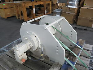 Hydraulic-Winch-Cable-Pulley-Reel-National-Crane-Grove-Crane-Mounted