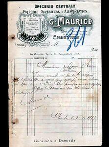 CHARTRES-28-EPICERIE-CENTRALE-PRODUITS-Sadla-034-G-MAURICE-034-en-1917
