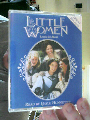 LITTLE WOMEN ON 2 TAPES LOUISE ALCOTT PERFECT BIRTHDAY GIFT! REDUCED TO CLEAR!