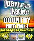 Party Tyme Karaoke Country Party 4 0610017445727 CD