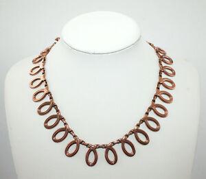 Collier-von-Renoir-um-1930-Kupfer-Collier-Halskette-Kette-necklace