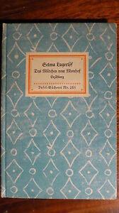 Inelbuch Nr. 285: Selma Lagerlöf, Das Mädchen vom Moorhof - Deutschland - Inelbuch Nr. 285: Selma Lagerlöf, Das Mädchen vom Moorhof - Deutschland