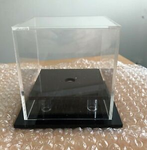 Golf-Ball-Display-Case-Acrylic-Perspex-Hole-in-One-Competition-Ball-BLACK