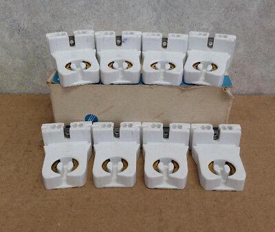 New Lot of 2 Leviton T8 Fluorescent Lampholder Sockets 26292 Tombstone