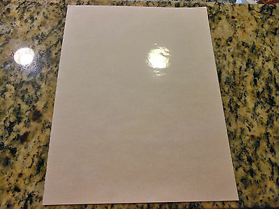Glossy CLEAR inkjet printable vinyl 10 pack 13in x 19in sheets